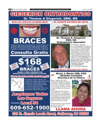 The Society Page en Espanol - GIEGERICH ORTHODONTICS