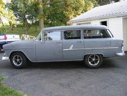 52. 55 chevrolet four door wagon.