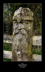 Gimli, Lord of the Rings, Wood Carving