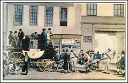 Stage Coach. 1780s