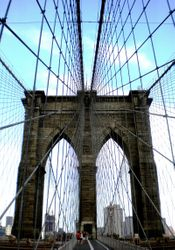 Brooklyn Bridge, August, 2009