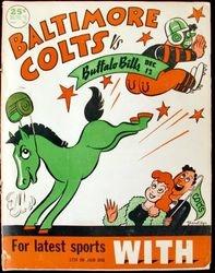 Baltimore Colts vs. Buffalo Bills