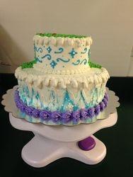 Wintery Arendelle Cake