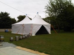 6x9m Marquee for the University of Essex
