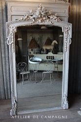 SOLD #28/063 FRENCH MIRROR LOUIS XVI SOLD