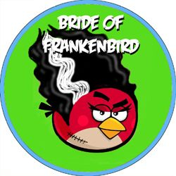 Angry Bird Monsters Bride of Frankenbird
