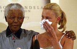 Mandela and Charlize Theron