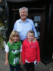 Dave Prowse MBE and those Sparkes girls