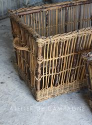 #26/059 FRENCH LAUNDRY BASKETS