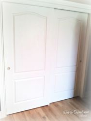 Closet sliding doors repaired