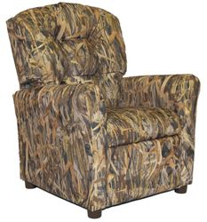 #400 Child Recliner  - Flooded Timber