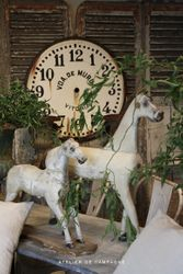 SOLD #19/215/155 Wooden Horses Small Horse SOLD