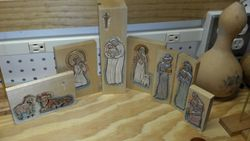 Nativity Scene carving