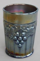 Grape & Gothic Arches tumbler, amethyst