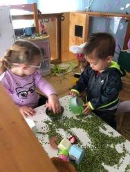 Peas Porridge cold during nursery rhyme unit
