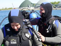 Open Water Checkout Dives in Sarnia, ON