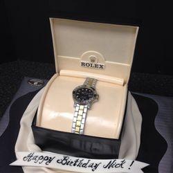 3D Rolex Cake