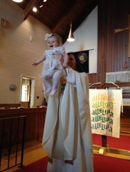 Claire's Baptism (Easter 2018)