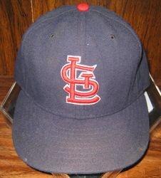 Albert Pujols 2008 Game Used Road Hat