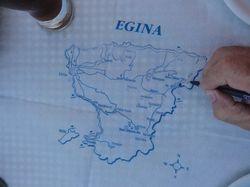 the closest island to visit. Egina