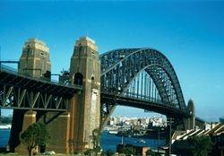 151 Sydney harbour bridge 1957