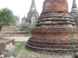 Ayuttaya  ruins