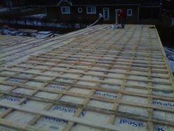 Steel roofing Prep