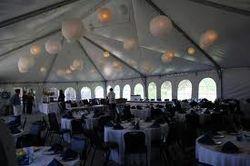 Inside Tent Decorating