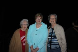 Three friends in Kentucky - Anne, Lynda, Pat