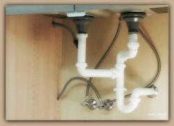 Plumbing config-sink-dishwasher
