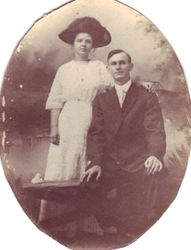 Katy Dunn and James Fletcher Manning marriage 1911
