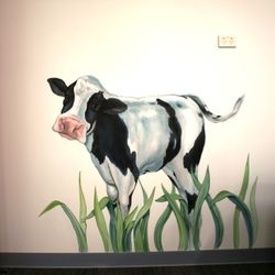 Childcare - cow