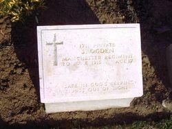 Pte. 1711 SIDNEY OGDEN. 9th Battalion.