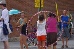 """Atelier de """"Hula hoop"""""""