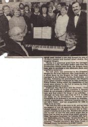 Our first piano