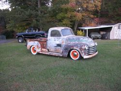 21. 50 Chevy 3100 pickup rat rod or street rod project.