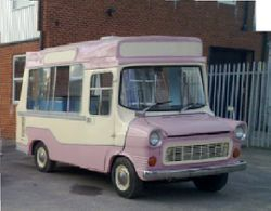 1970s Ice Cream Van