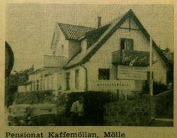 Pensionat Kaffemollan 1960