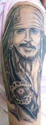 April's Captn' Jack Sparrow aka Johnny Depp
