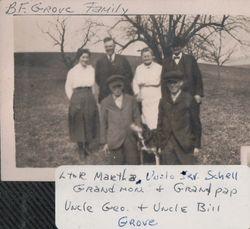 Benjamin F. Grove Family