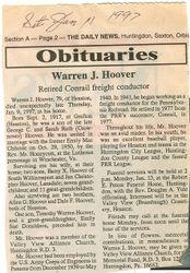 Hoover, Warren J. 1997