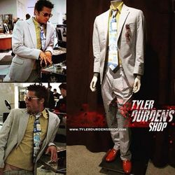 Fight Club Soap Sales Suit and Tie