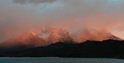 Sunrise on the Paine.