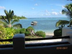 Pacific Resort, Rarotonga. Chambre vue mer