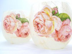 Large Roses (large tealight holder only)