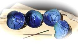 """Blues"" Asian Bowls"