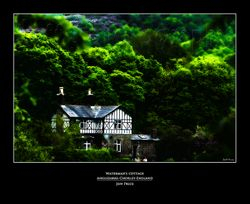 Waterman's cottage Anglezarke-Chorley-England