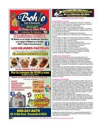 El Bohio / Restaurant / Acontecimientos / Octuber