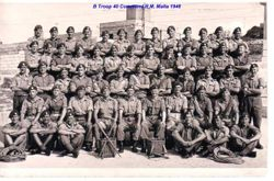 B Troop 40 Commando Malta 1948