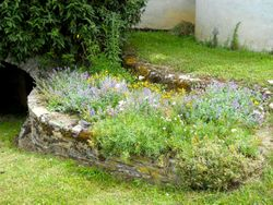 Final garden at Arvieu Mayor's building, after